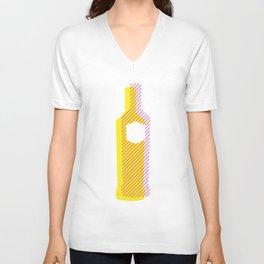 Pop Art Vodka Unisex V-Neck