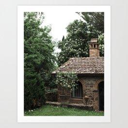 The Poolhouse Art Print