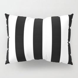 Stripes Black And White Pillow Sham