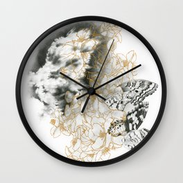 Epiphany in Bloom Wall Clock