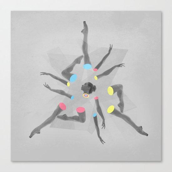 Break Dancer Canvas Print