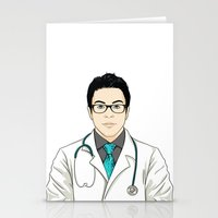 doctor Stationery Cards featuring Doctor by BusOne - Aldo Campilongo