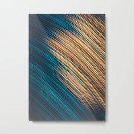 Sun Spot. Abstract Design Metal Print