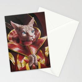 Ming the Fur-ciless Stationery Cards