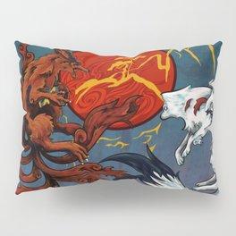 Okami & Kurama Pillow Sham