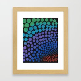 Lots of Dots Framed Art Print