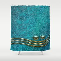 decorative Shower Curtains featuring Decorative design by nicky2342
