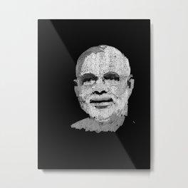 81 - Narendra Modi Metal Print