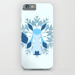 Minimal Glaceon iPhone Case