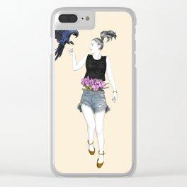 Martina Clear iPhone Case