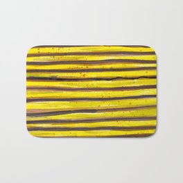BUMBLE BEE SWIRL Bath Mat