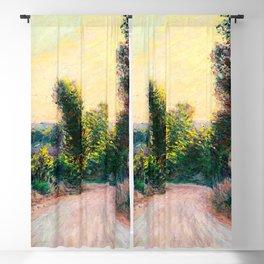 "Claude Monet ""Chemin"" Blackout Curtain"