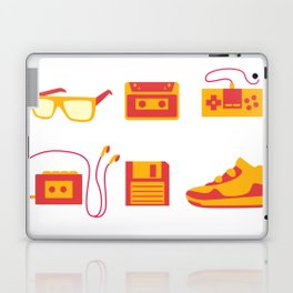 I Love the 80s - Bedroom Items - Sneakers Sunglasses Walkman Video Game Laptop & iPad Skin