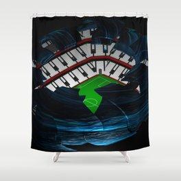 The Arabic Shower Curtain