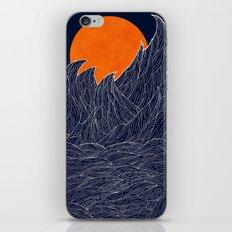 The White Waves iPhone & iPod Skin