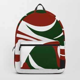 Abstract snail Backpack