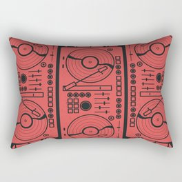 Music Vinyl Record Player Rectangular Pillow