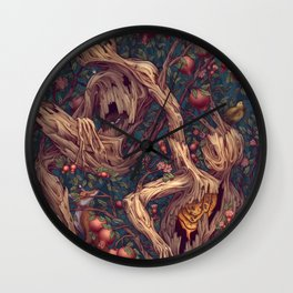 Tree People Wall Clock