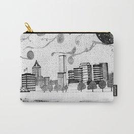 Portland Oregon Skyline Invert Carry-All Pouch