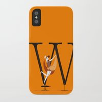 eames iPhone & iPod Cases featuring Willow & Eames by ChicksAndType