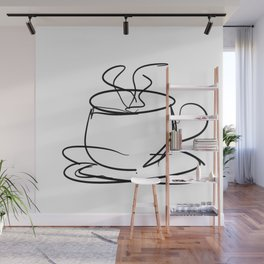 Cafe Latte Wall Mural