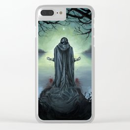 The Promise of Death Clear iPhone Case