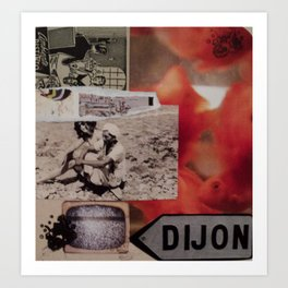 Dijon Art Print
