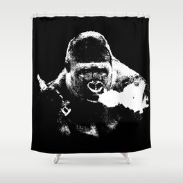Gorilla Vape Shower Curtain