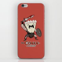 conan iPhone & iPod Skins featuring Conan The Bavarian by Bobby Baxter