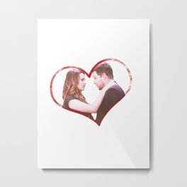 Alex and Jo Metal Print