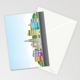 Park Slope Skyline (Color) Stationery Cards