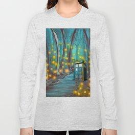 Tardis in the Glow Long Sleeve T-shirt