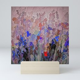 Absract Flowerscape Painting Mini Art Print