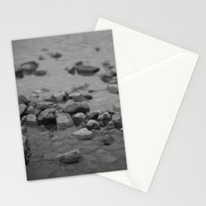 the shallows // river rocks Stationery Cards