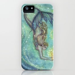 Celestial Sea Fantasy Art by Molly Harrison iPhone Case