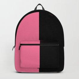 Team Colors 7..pink,black,white Backpack