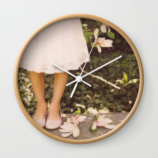 Late Bloomer Wall Clock