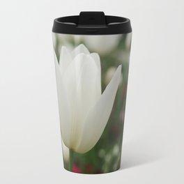 White Tulip Travel Mug