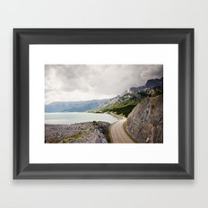Icefields Parkway Framed Art Print