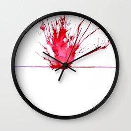 My Schizophrenia (6) Wall Clock