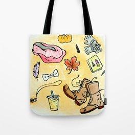 Fall Favorites Tote Bag