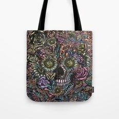 Sensory Overload Skull in Pastels Tote Bag