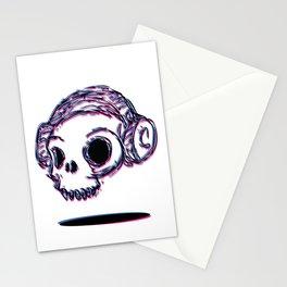 3D Skull Stationery Cards