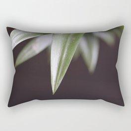 Pineapple Leaves Nature Rectangular Pillow