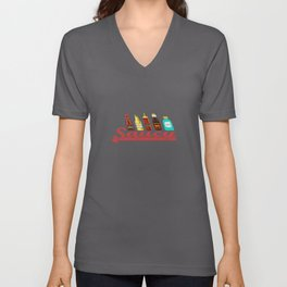 Saucy Condiments Unisex V-Neck