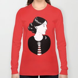 To the Lighthouse - Virginia Woolf Long Sleeve T-shirt