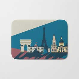 Paris - Cities collection  Bath Mat