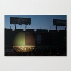 Green Monster - PearlJam - Fenway Park - Boston Canvas Print