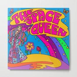 The Space Queen Metal Print