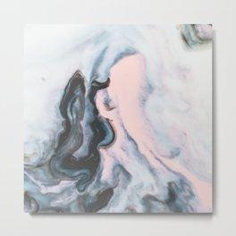 Modern marble 01 Metal Print